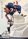 O.J. Simpson football card (Buffalo Bills The Juice) 1994 TWC #8