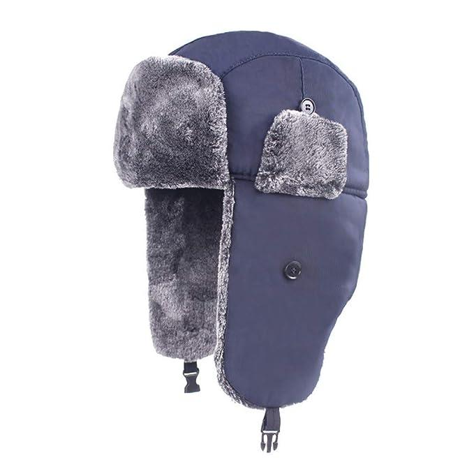 Gusspower Sombrero de Hombre y Mujer Grueso y cálido Gorros de ...