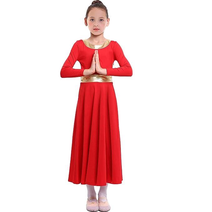 Amazon.com: MYRISAM - Alabado vestido de baile para niñas ...