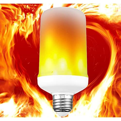 led flame light bulb christmas lights flickering flame led light bulbs simulated decorative light atmosphere lighting
