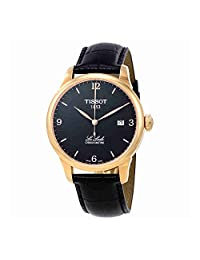 Tissot Le Locle Automatic COSC Black PVD Mens Watch T0064083605700
