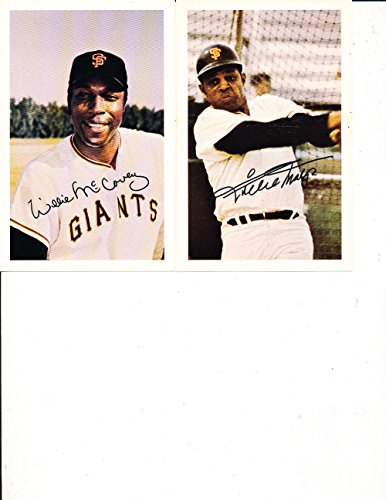 San Francisco Giant Schedule (1970 San Francisco Giants Ticketron Schedule 10 card Set nm Willie Mays)