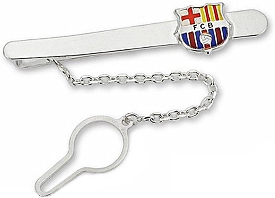 Pisacorbatas escudo F.C. Barcelona Plata de ley esmaltado [6917 ...