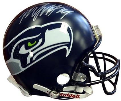 05b24ccd8 Marshawn Lynch Signed Seattle Seahawks Riddell Proline Football Helmet -  Autographed NFL Football Helmets