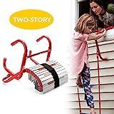 Best Emergency Fire Escape Ladders - DELXO Fire Escape Ladder, 2 Story Portable Emergency Review