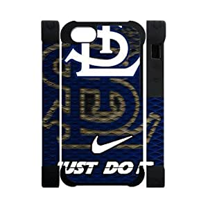 Nike Just Do It Retro St. Louis Cardinals Case For Ipod Touch 5 Cover 5 Polymer