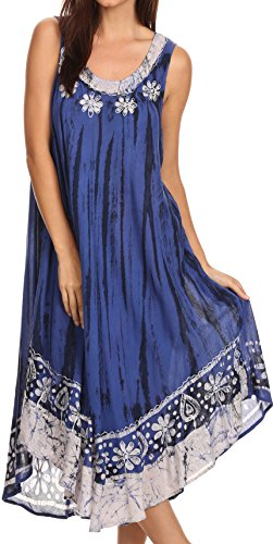 formal denim dress - 1
