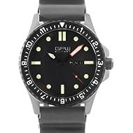[Sponsored]German Military Titanium Watch. GPW Day Date. Grey Field Rubber Strap. Sapphire...