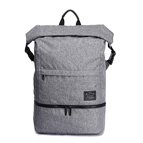 Business Travel Backpack, BTBSZ Fitness Exercise Sport Gym Hiking Camping Backpack with Shoe Storage Waterproof Outdoor Sport Backpack School Laptop Backpack Fits up to 15.6 Inch Tablet