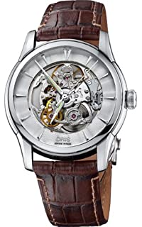 Oris Artelier Skeleton Mens Watch 734 7670 40 51 Ls