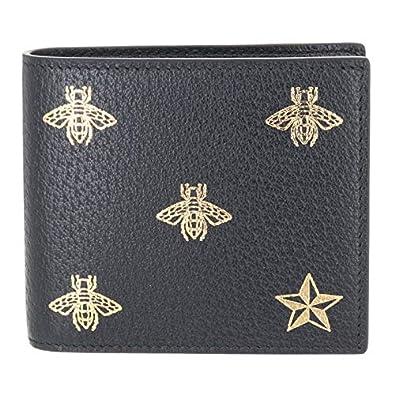 2d68760a6ded Amazon | GUCCI(グッチ) 財布 メンズ 二つ折り 蜂 小銭入れ有り Bee Star ...