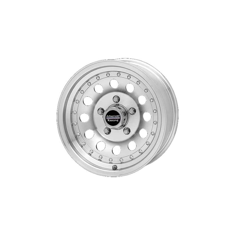 American Racing OutlawII 14x7 Machined Wheel / Rim 6x5.5 with a 0mm Offset and a 108.00 Hub Bore. Partnumber AR624783