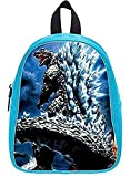 Emana custom Godzilla backpack school Student Shoulder bag School Bag for kids (large) Review