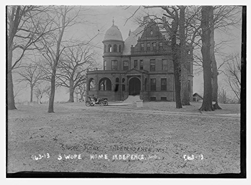 1900 Photo Swope House, auto parked in front, Independence, - Mo Stores Independence In