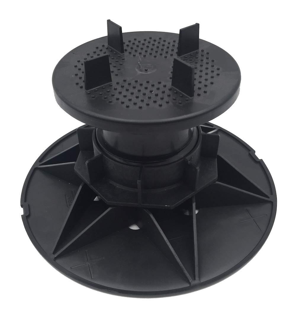 h 65-100 mm Scatola da 25 pezzi tutte le dimensioni 25 pezzi Supporti a martinetto regolabili per piastrelle piastrelloni