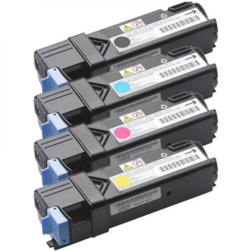 Compatible - Toner Cartridges - Dell 1320c Color Printer (Black,Cyan,Magenta,Yellow)
