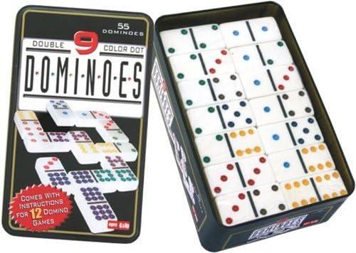 Engelhart Jeu de Domino  Double 9-250102