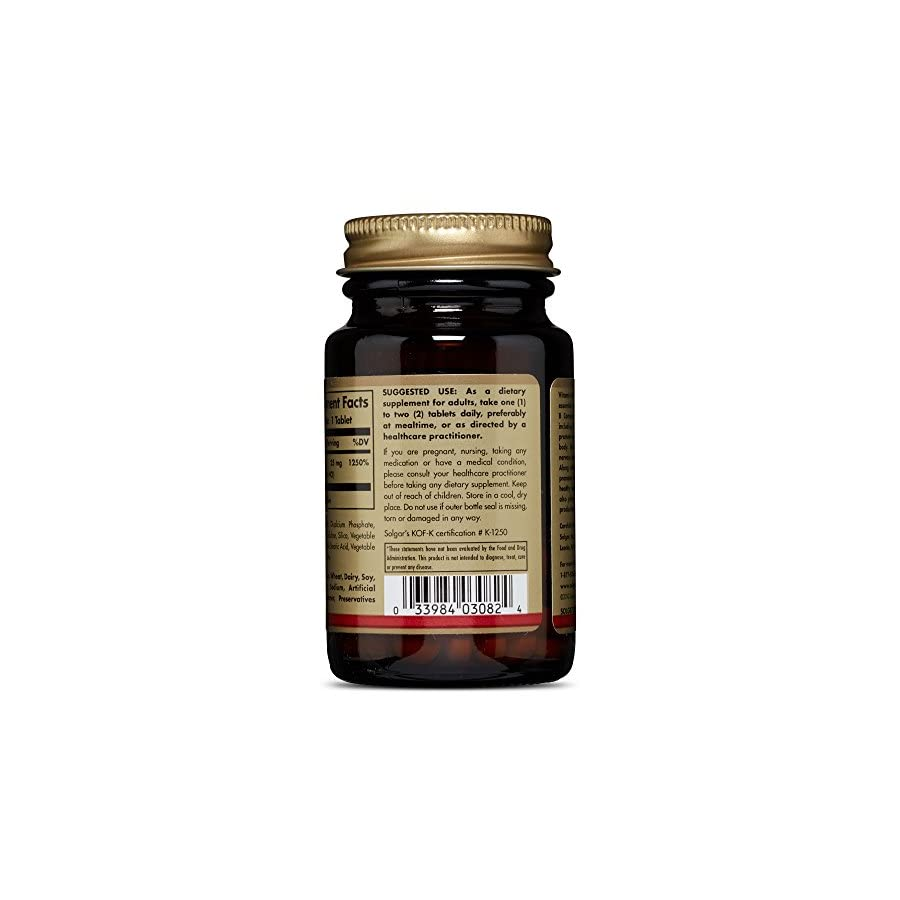 Solgar Vitamin B6 100 mg.