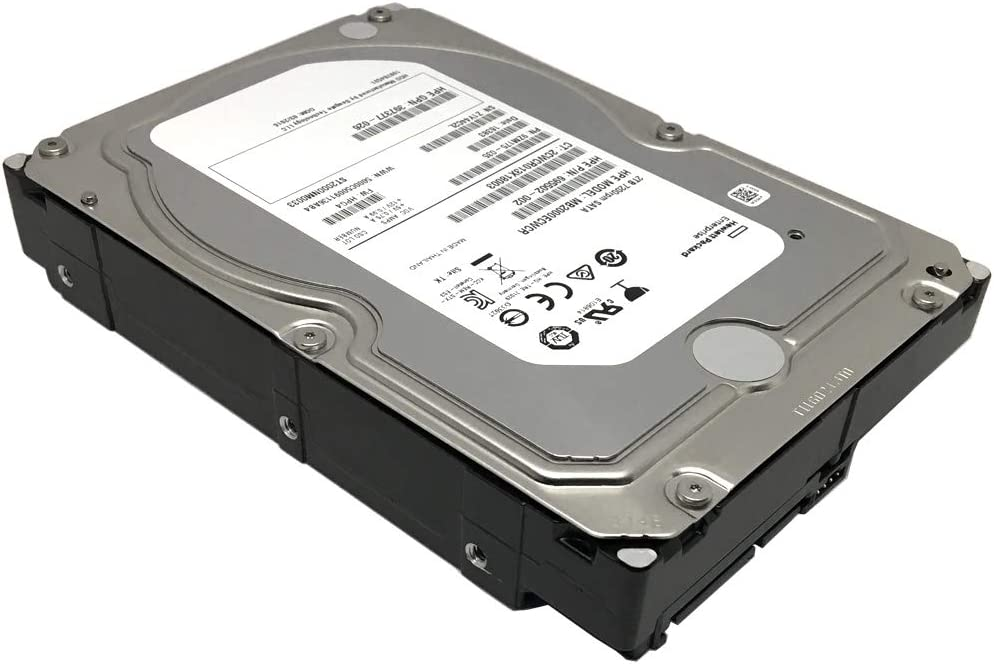 HP/Seagate Constellation ES 2TB 7200RPM 128MB Cache SATA 6Gb/s 3.5inch Internal Enterprise Hard Drive - ST2000NM0033 (Renewed)
