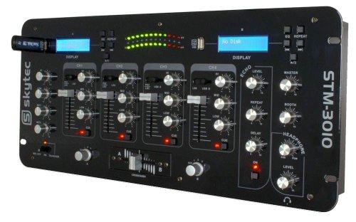 Skytec 172727 – Stm-3010 mezclador de 4 canales