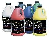 Chroma Chromacryl Acrylic Essentials - 1/2 Gallon - Set of 6