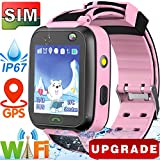 Best Child Locator Watch For Kids - [WiFi Locator] GPS Tracker Watch,Kids Smartwatch Phone,Waterproof Girls Review