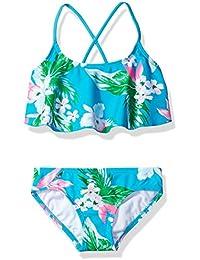 Girls' Alania Flounce Bikini Beach Sport 2-Piece Swimsuit