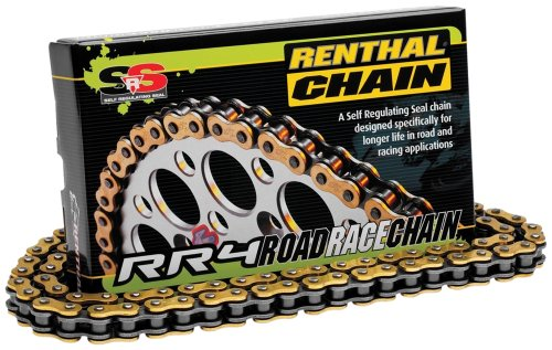 (Renthal (C372) 520-Pitch 110-Link RR4 SRS Road Race Chain)