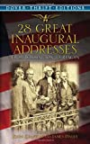28 Great Inaugural Addresses, , 0486446212