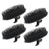 4pcs Scalp Massager Shampoo Brush