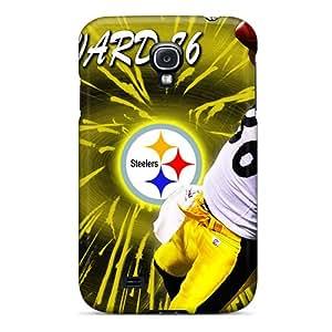 New Pittsburgh Steelers Tpu Cases Covers, Anti-scratch ErissionHerdezan Phone Cases For Galaxy S4