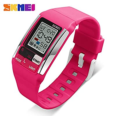 Kids Watches Boy Girl Digital Sports Waterproof Wrist Watch with Alarm for Child from SKMEI