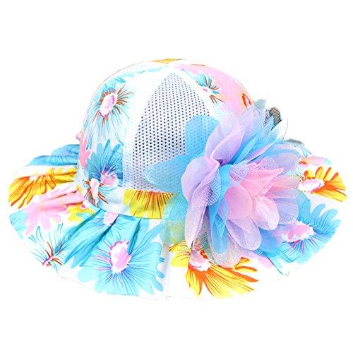 85% OFF Kanggest Las Niñas de Algodón Colorido del Verano del Sombrero de Ala  Ancha 1a4503a51180