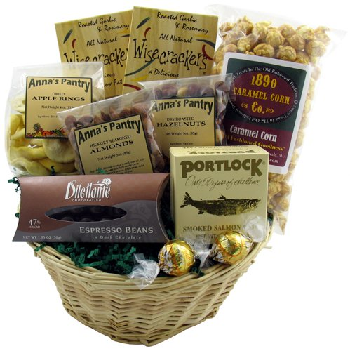 Northwest Bounty Gift Basket (Wine Gift Baskets Seattle)