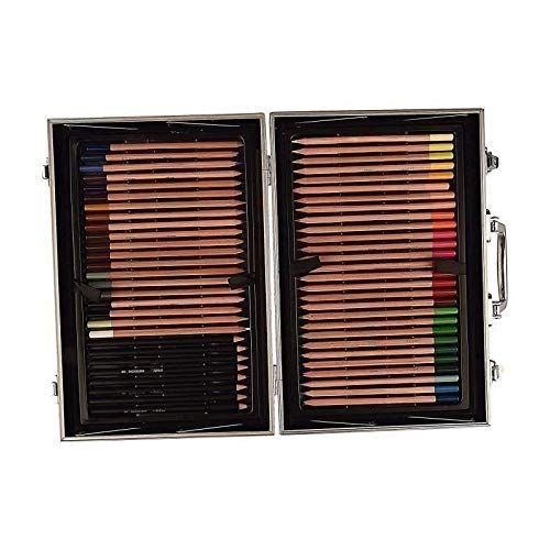 - Daler Rowney Complete Artist Kit 122 pcs w/metal carrying case