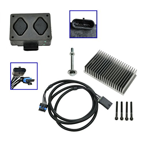 Fuel Pump Driver Module PMD and Relocation Kit Set for Chevy GMC 6.5L Diesel - Forward Control Kit Relocation