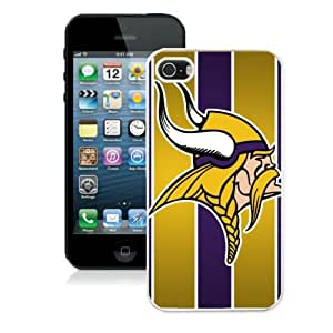 Unique Design 2014 Style NFL Minnesota Vikings Iphone 5s or Iphone 5 Case Hot By zeroCase