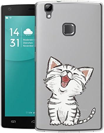 Funda Doogee X5 Max/ X5 Max Pro Lindo gato Mariposas Suave TPU Silicona Anti-rasguños Protector Trasero Carcasa Para Doogee X5 Max/ X5 Max Pro: Amazon.es: Electrónica