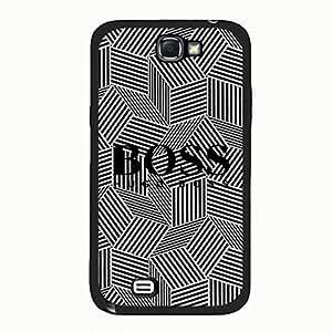 Cool Design Hugo Boss Phone Case Cover for Samsung Galaxy Note 2 N7100 Boss Logo Pop luxury