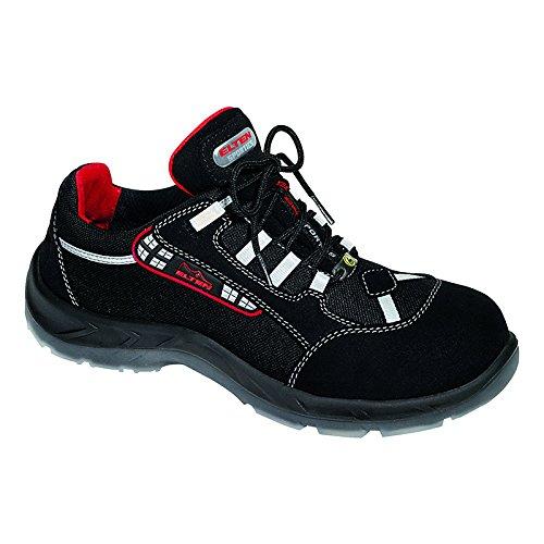 Elten Zapatillas de seguridad para hombre negro negro multicolor