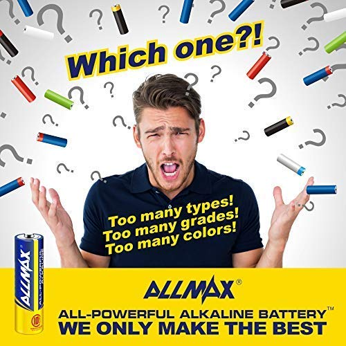 ALLMAX All-Powerful Alkaline Batteries - AA (100-Pack) - Ultra Long Lasting and Leak-Proof, All-Purpose for Household and Business by ALLMAX (Image #5)