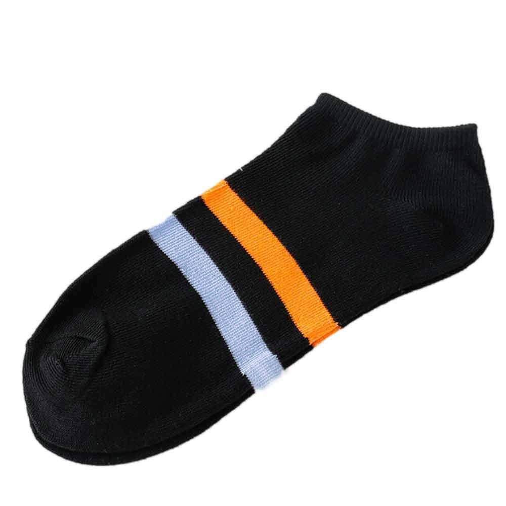 VJGOAL Moda casual unisex Zapatillas de calcetines a rayas cómodas Tobillo corto Calcetines de algodón de boca baja(Tamaño del niño, Azul): Amazon.es: Ropa ...