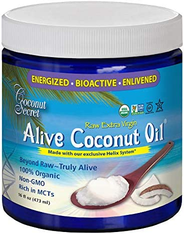 Coconut Secret Extra Virgin Alive