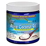 Coconut Secret Alive Coconut Oil - 16 fl oz - Raw Extra Virgin Coconut Oil for Skin, Cooking, High in MCTs - Organic, Vegan, Non-GMO, Gluten-Free, Kosher - 32 Total Servings