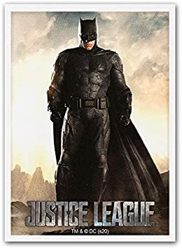 Dragon Shield Matte Art DC Justice League Batman Standard Size 100 ct Card Sleeves Individual Pack