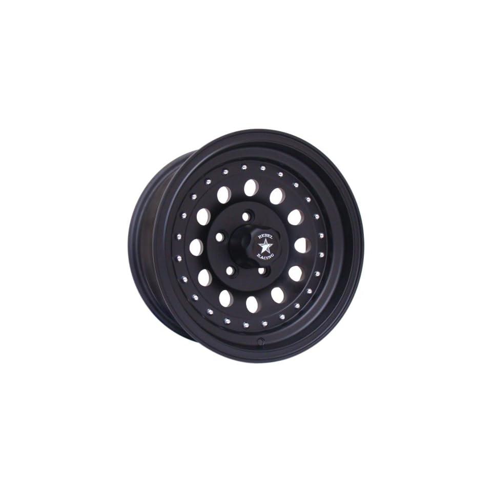 15x7 Rebel Outlaw II (Matte Black) Wheels/Rims 6x139.7 (7625783) Automotive