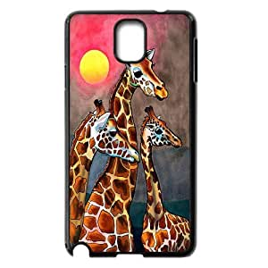 [MEIYING DIY CASE] For Samsung Galaxy NOTE3 Case Cover -Animal Giraffe Artwork-IKAI0446765