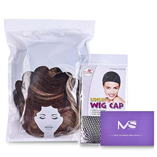 MS-Brown-Curly-Wig