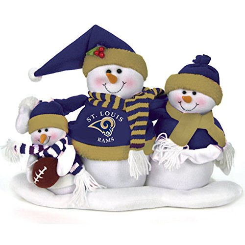 (St. Louis Rams Table Top Snow Family)