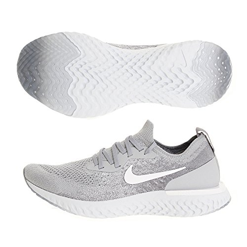 Running Epic Platinum NIKE React Pure Wolf Grey 002 Men 's Shoes Flyknit Grey Cool Competition Multicolour White qCwYHC